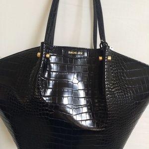 Rachel Zoe Vegan Croco Shoulder Bag